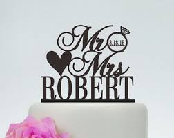 personalized cake topper wedding cake toppers etsy