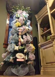 the tuscan home easter mantle easter tree and easter decor