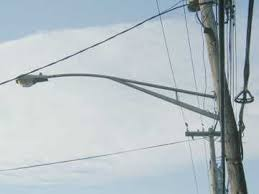 utility pole light fixtures tales of the t poles nyc s variety of telephone pole lighting