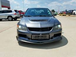 mitsubishi grey mitsubishi lancer evolution mr in texas for sale used cars on