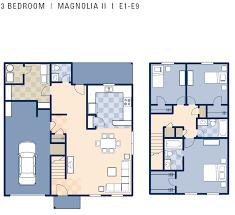 3 bedroom duplex ncbc gulfport magnolia ii neighborhood 3 bedroom duplex floor