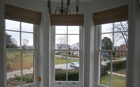 roman blinds bay window home decorating interior design bath