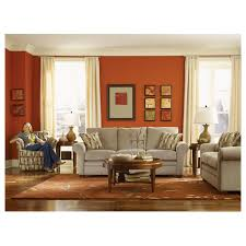 Lazy Boy Sleeper Sofa Review Awesome Living Rooms Natalie Premier Sofa Intended For