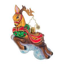 christopher radko ornaments radko riding high little gem