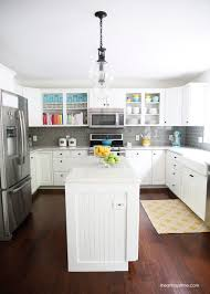 Grey And Yellow Kitchen Ideas White And Grey Kitchen Makeover I Heart Nap Time