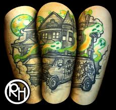realistic scooby doo tattoo ronnie hicks flickr