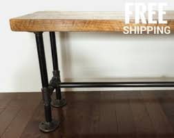 Industrial Bench Industrial Bench Etsy
