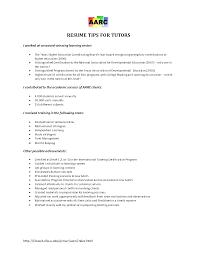 Higher Education Resume Tutor Sample Resume Amazing Tutor Resume Sample 15 Tutor Resume