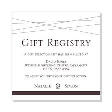 where do you register for wedding gifts wedding invitation wording gift registry beautiful wedding gift