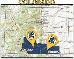 Greeley Colorado Map by Trinidad State Junior College