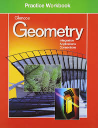 amazon com geometry practice workbook glencoe mathematics