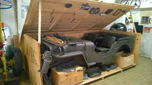 bantam jeep for sale how wwii jeeps were crated for shipping core77