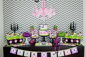 Halloween Birthday Party Cakes by Our New Glam O Ween Halloween Party Printable Collection Anders