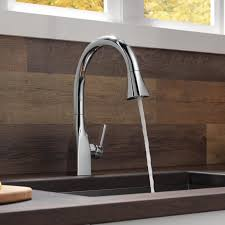 delta kitchen faucet reviews kitchen contemporary delta kitchen faucets home depot touch