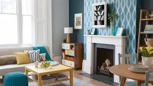 combine shades of teal and graphic patterns dulux