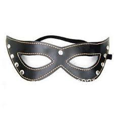 leather masquerade masks new design women leather eye black mask fancy dress venetian