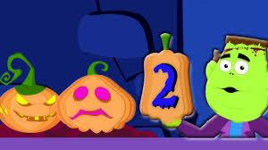 halloween in spanish diez en la cama canciones infantiles rimas scary ten in the