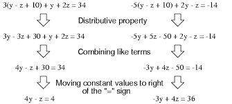 solving simultaneous equations algebra reference electronics