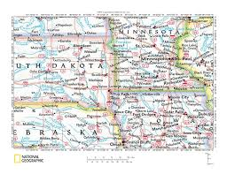 Map Of The United States With Landforms by Big Sioux River Drainage Basin Landform Origins South Dakota And