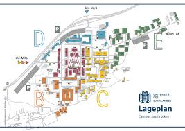 Interactive Maps Interactive Map Saarland University