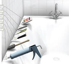 Clear Bathroom Sealant How To Remove Caulk In 6 Easy Steps