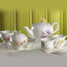 lenox butterfly meadow tea set the teapot shoppe inc