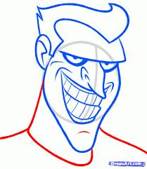 tutorial gambar joker joker face drawing at getdrawings com free for personal use joker