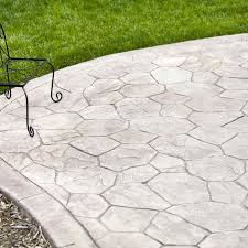Patio Flagstone Prices 2017 Stamped Concrete Patio Cost Calculator How Much To Install