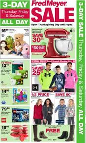 fred meyer 3 day sale november 26 28