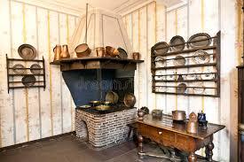 cuisine historique la cuisine historique avec le four de fer dans le musée de goethe