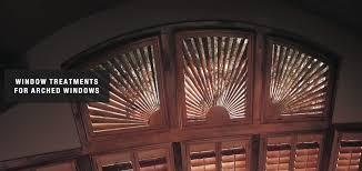 blinds shades u0026 shutters for arched windows toliver u0027s phoenix