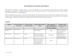 assessment templates it risk assessment templates