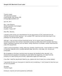 best ideas of machinist resume cover letter sample on format