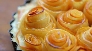rose apple tart recipe mother u0027s day youtube