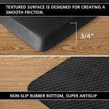 Non Slip Mat For Laminate Flooring Amazon Com Anti Fatigue Standing Mat Fu Store Waterproof Non
