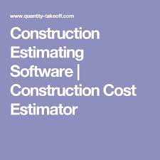 Construction Estimating Certification by Best 25 Construction Estimating Software Ideas On