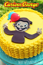 curious george cakes worth pinning curious george cake