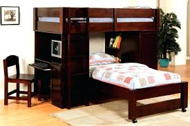 Modern Bunk Bed With Desk Bunk Desk Bed Combo Bed And Computer Desk Combo Image Of Modern