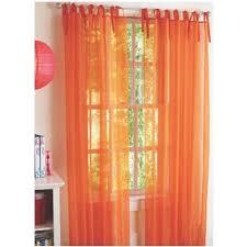 Burnt Orange Curtains Decorating Burnt Orange Sheer Curtains Within Fantastic Window