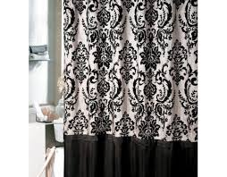 Shower Curtains Black Tremendous Waterfall Ruffled Shower Curtain Shower Curtains
