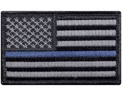 Subdued American Flag With Thin Blue Line V29 Tactical Thin Blue Line Law Enforcement Police Patch Usa Flag