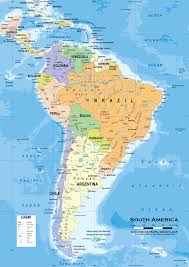 Geographical Map Of South America by Physical Map Of South America Ezilon Maps Physical Map Of South