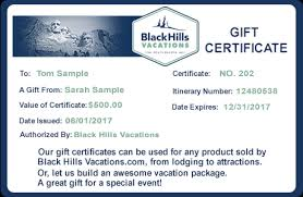 travel gift certificates gift certificates black vacations travel deals