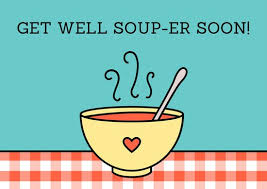 get well soon cards soup get well soon card templates by canva