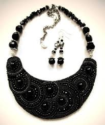 bib necklace black images Bib necklaces pandahall beads jewelry blog jpg