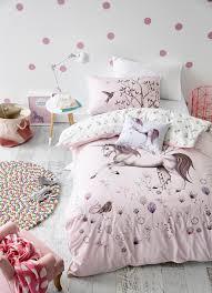 Girls Bedroom Quilt Sets Adairs Kids Unicorn Dreaming Quilt Cover Set Kids Bedroom Ideas