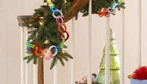 styrofoam filled ornaments with a preschooler