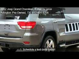 jeep grand hemi price 2012 jeep grand overland 5 7l hemi leather sunro