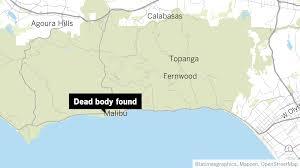 Google Maps Dead Body Hiker Finds Dead Body In Malibu Bluffs Park