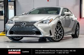 lexus rc f manual 2017 lexus rc 350 awd f sport série 2 navigation special demo
